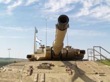 Israeli Tank. Illustrative. By Joshua Spurlock.