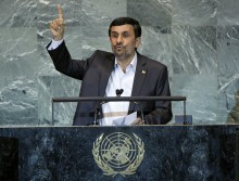 Iranian President Ahmadinejad. Photo Courtesy of UN Photo/Marco Castro