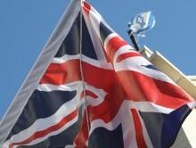 British oppose boycotts of Israel. UK, Israeli flags. Illustrative. By Joshua Spurlock