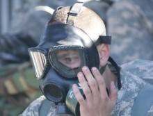 Poisonous chemical weapons used in Syria? Illustrative. Photo courtesy of Mr James Brabenec (IMCOM)