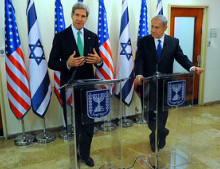Will US talk their way to a Middle East deal? US Secretary of State Kerry and Israeli Prime Minister Netanyahu. Illustrative. Photo Courtesy of US State Department.