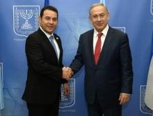 Israeli PM Netanyahu and Guatemala President Morales. Photo courtesy of Haim Zach (GPO)