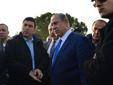 PM Netanyahu at scene of Jerusalem Truck Ramming Attack. Photo by Kobi Gideon / GPO