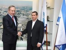 Israeli PM Netanyahu and ISA Director Nadav Argaman. Photo courtesy of ISA